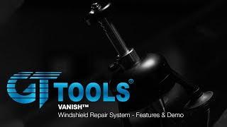 [Repair Demo] The VANISH™ Windshield Repair System - GT Tools®