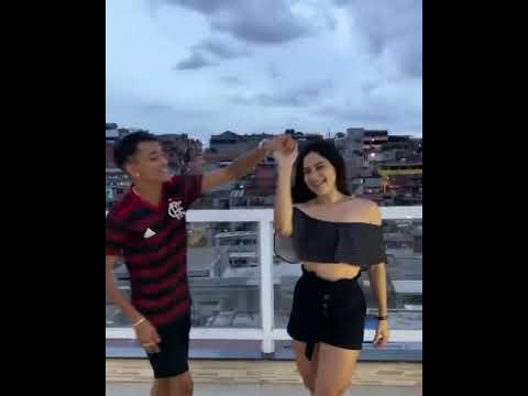 Monica chaves e Cremosinho dancando forro juntos @Mônica Chaves