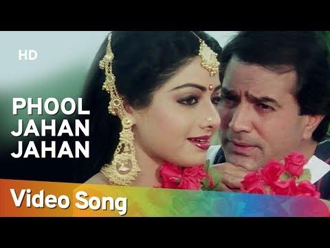Phool Jahan Jahan (HD) | Naya Kadam Song | Rajesh Khanna | Sridevi | Romantic