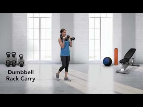 Dumbbell Rack Carry