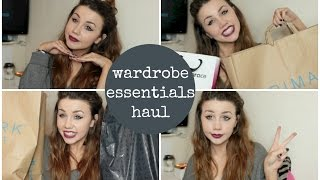 preview picture of video 'Wardrobe Essentials Haul feat. Zara, Primark and Lola & Grace | CopperGardenx'