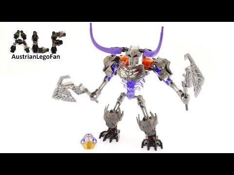 Vidéo LEGO Bionicle 70793 : Le Crâne découpeur