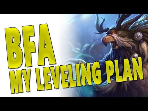 BfA MY LEVELING PLAN/GUIDE - Balance Druid Build & Gear | Professions &  More | Battle for Azeroth - MadSkillzzTV