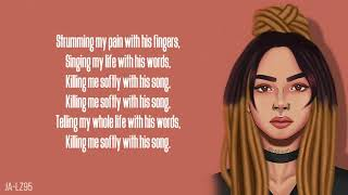Zhavia   Killing Me Softly (Lyrics)(The Four)