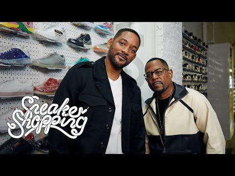 Download Will Smith And Martin Lawrence Go Sneaker Shopping With Complex HD Mp4 3GP Video and MP3