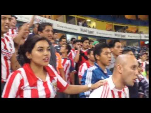 """""""Desde la barra rojiblanca Atlas vs Chivas 0-1 '15"""" Barra: La Irreverente • Club: Chivas Guadalajara"""