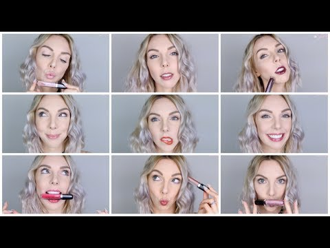 ❥ 25 COLORS LIP SWATCH | Marc Jacobs Hi-Shine Gloss