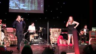Joe McElderry & Ashley Russell duet - Fairytale of New York (Matinee)  - Customs House