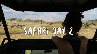 Safari In Tanzania: Wildebeest Migration | Africa Vlog 4