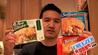 Which Frozen Chicken Pot Pie Is Best? Swansons Vs Banquet Vs Marie Callenders