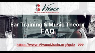New Movie: FAQ | Vivace Ear Training & Music Theory Program