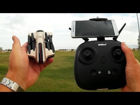 UDI i251HW Folding FPV Camera Drone Flight Test Review