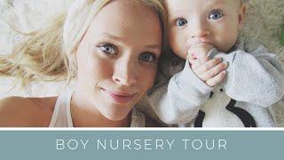 BABY: Nursery Tour | Montessori Inspired | Boy Nursery