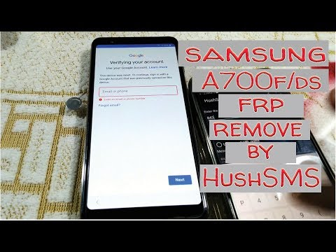 Samsung Galaxy A7 triple 2018 camera FRP without pc computer