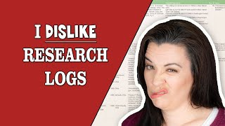 Why You Dont Need Research Logs In Genealogy And What To Do Instead - Beginning Genealogy