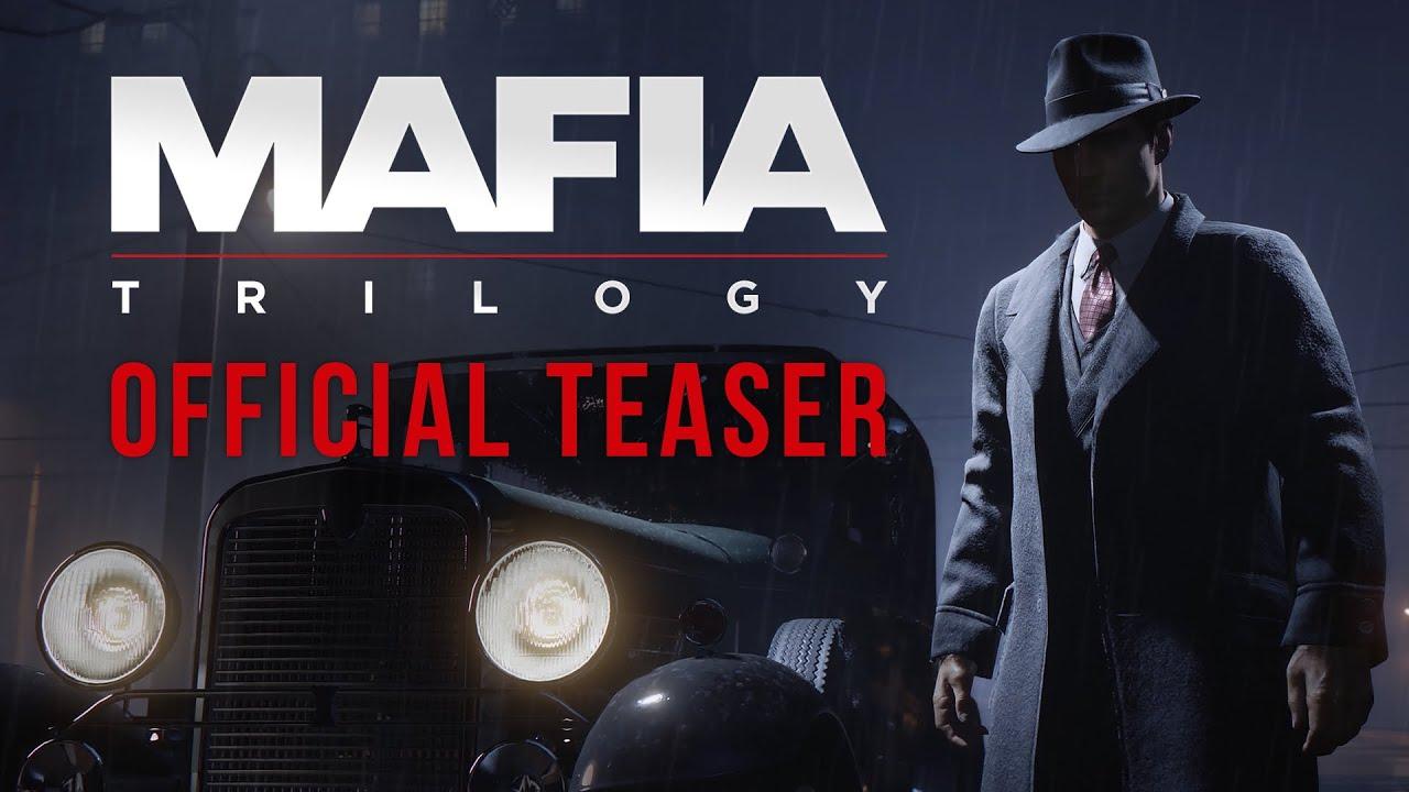 Трейлер трилогии популярной серии игр Mafia