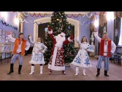 Новогодний Gangnam Style (Это Дед Мороз!)
