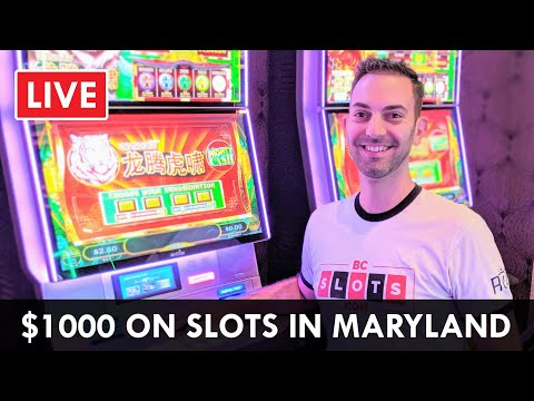 🔴 LIVE $1000 On Slots 🎰 At Rocky Gap Casino Resort In Beautiful Maryland #AD