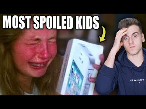 The Worst Spoiled Kids Reacting To Expensive Gifts!
