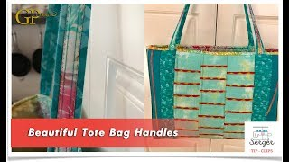 Gail's Serger Tote Bag Handles