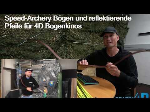 Pfeil und Bogen für das 4D Bogenkino