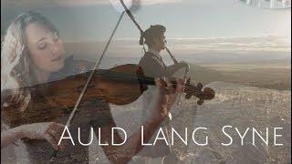 Auld Lang Syne (Instrumental Violin and Bagpipes) + Free Sheet Music