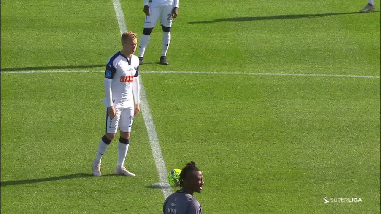 HIGHLIGHTS Vendsyssel FF - FC København 30.09.18