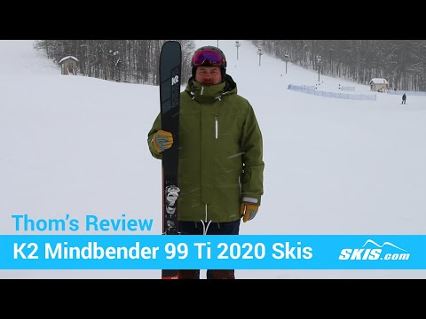 Video: K2 Mindbender 99 TI Skis 2020 20 50