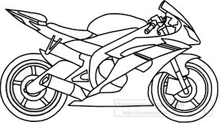 How To Draw A Yamaha Sports Bike / Easily Step By Step