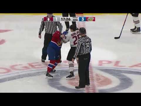 Jalen Luypen vs. Ethan Rowland