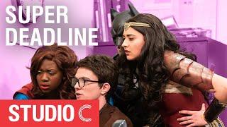 Justice League Saves Clark Kent - Studio C