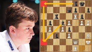 Alpha Vincent | Keymer vs Caruana || Grenke Chess Classic (2019)