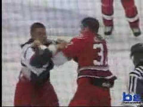Trevor Gillies vs Jon Mirasty