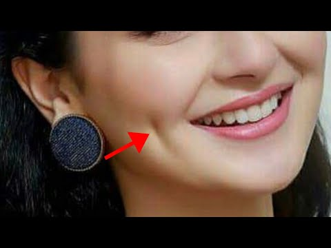 How To Get Dimples Fast And Naturally/ Beauty Tips In Hindi