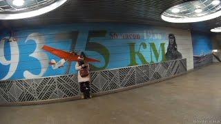 Станции Чкаловская и Курская кольцевая