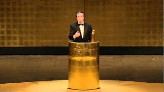 Speech by recipient Riccardo Muti 2011