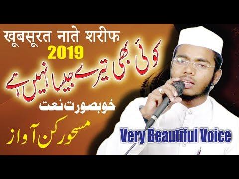 खूबसूरत 2019 नाते शरीफ-Beautiful New VOICE-Qari Md.Qamruddin Siraji-Zikre Ahmed-TDMS STUDIO