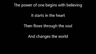 Donna Summer - The Power of One - Karaoke Version