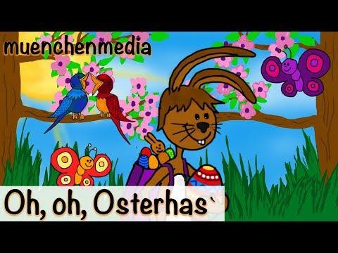🎵 Oh, oh, Osterhas` - Osterlieder - Osterhasenlied - Kinderlieder zum Mitsingen | muenchenmedia