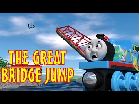 TOMICA Thomas & Friends Short 45: The Great Bridge Jump (WOODEN RAILWAY VERSION)