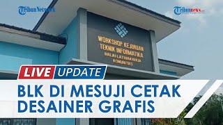 LIVE UPDATE: Balai Latihan Kerja Sabilun Najah di Mesuji Cetak Pekerja Desain Grafis