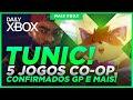 Daily Xbox Tunic E Outros No Evento 5 Jogos Co op Confi