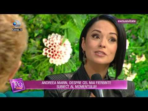 Andreea Marin la Kanal D - despre proiecte dedicate persoanelor cu dizabilitati - octombrie 2017