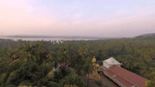 2014-12-04 Timelapse from the roof, Chapora