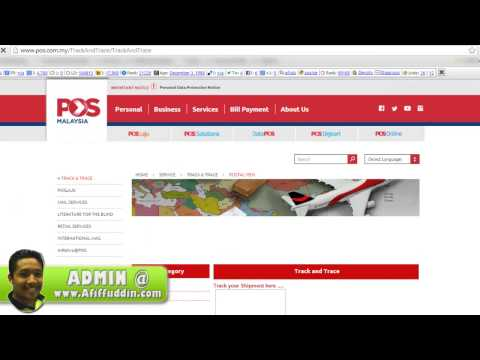 Check Tracking Number Pos Laju Malaysia Online