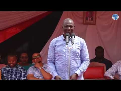 Ruto asks Taita Taveta leaders find solutions for their people