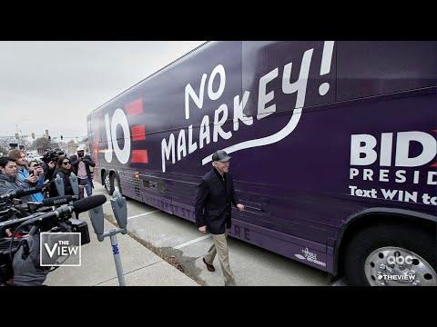 "Joe Biden's ""Malarkey"" Slogan Mocked, Part 1 | The View"