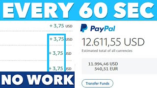 Earn $10,000+ FREE PayPal Money Fast! (Make Money Online)