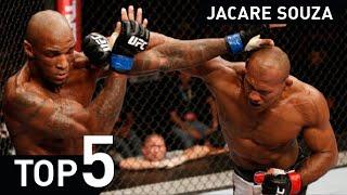 Ronaldo Jacare Souza UFC MMA Jiu Jitsu UFC Fight Highlight 2015