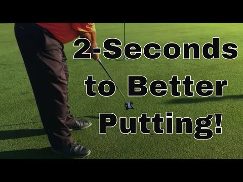 2-Seconds to Consistent Putting
